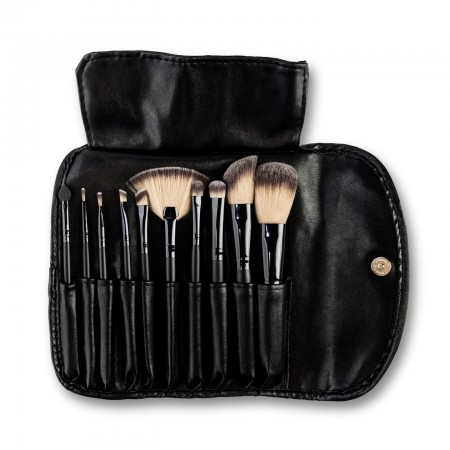 bellapierre 10 pcs professional brush set
