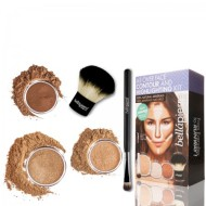 bellapierre all over face countour and highlighting kit dark