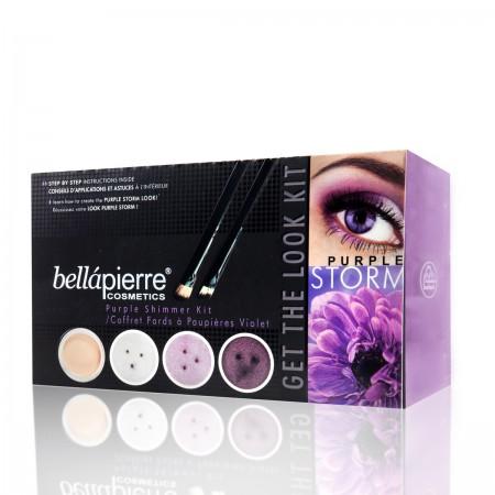 bellapierre get the look kit purple storm