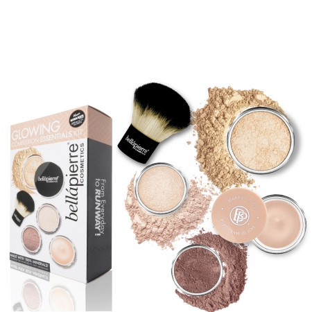 bellapierre glowing complexion kit fair