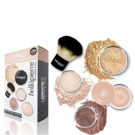 bellapierre glowing complexion kit medium