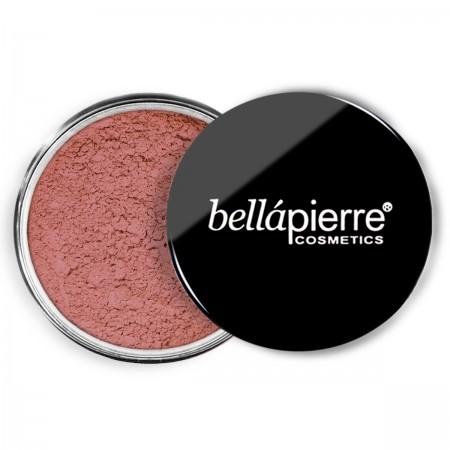 bellapierre loose blush suede