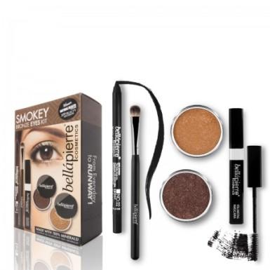 bellapierre smokey bronze eyes kit