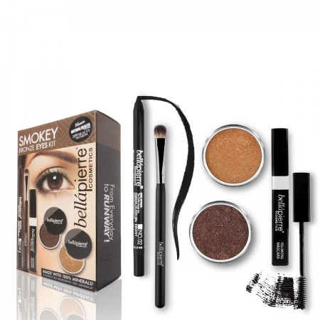 bellapierre smokey bronze eyes kit