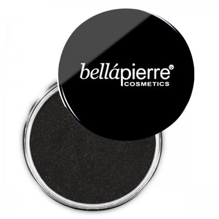 bellapierre shimmer powder loose eyeshadow noir