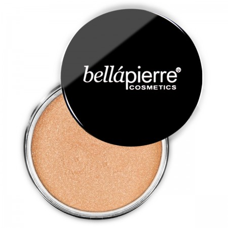 bellapierre shimmer powder loose eyeshadow coral reef