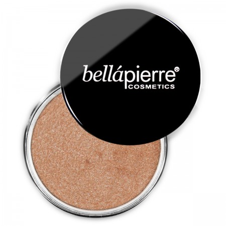 bellapierre shimmer powder loose eyeshadow gold and brown